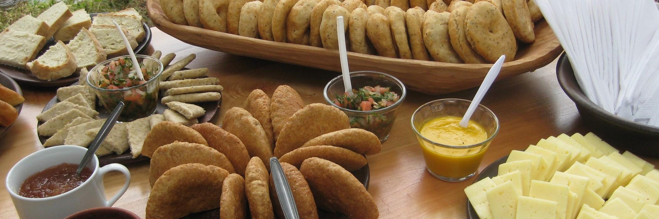 Coctel alimentos cocina mapuche